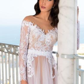 שמלת כלה שרוול ארוך