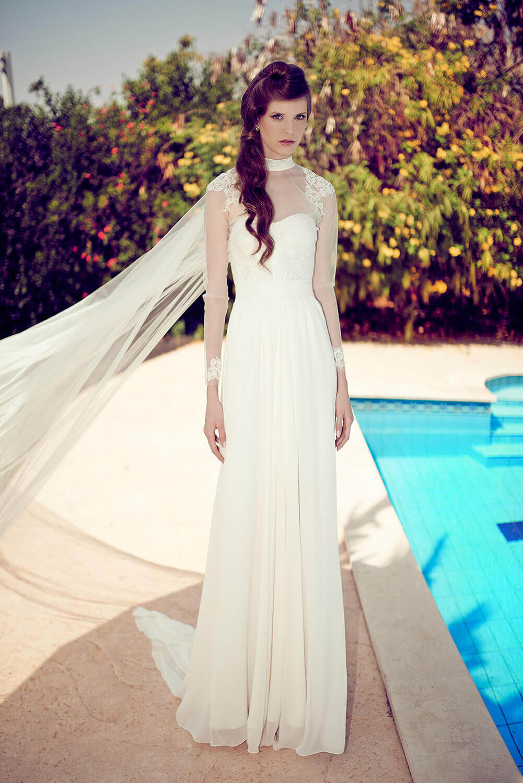שמלת כלה צנועה ומרשימה