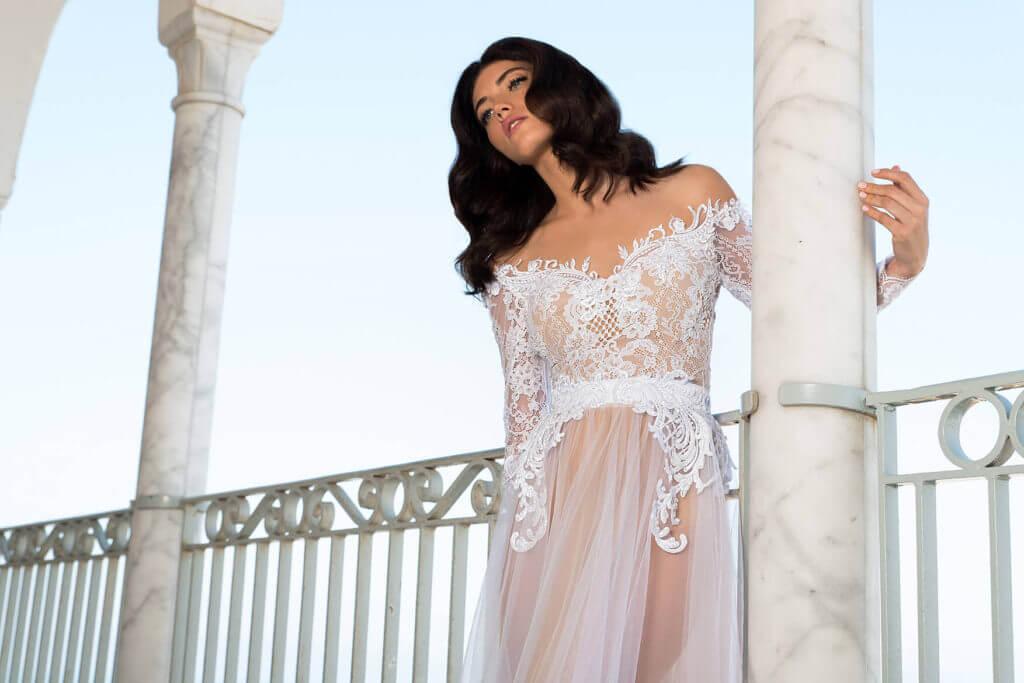 שמלת כלה איכותית של המעצבת הילה כהן