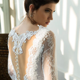 שמלת כלה לבנה