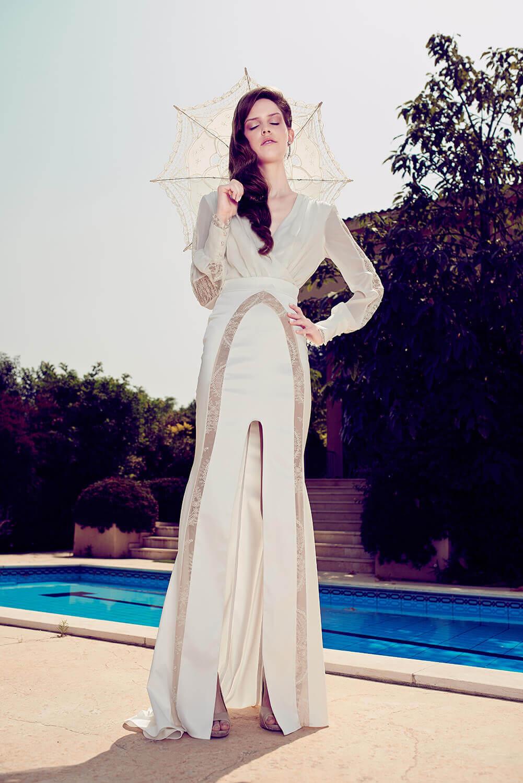 שמלות כלה צנועות של הילה כהן מעצבת שמלות הכלה וערב