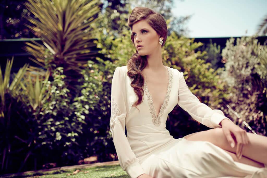 שמלות כלה בצבע שמנת מקולקציית ROMANCE
