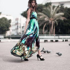 שמלת ערב יוקרתית מקולקציית strada