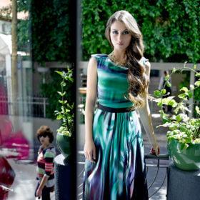 שמלת ערב מדהימה של המעצבת הילה כהן